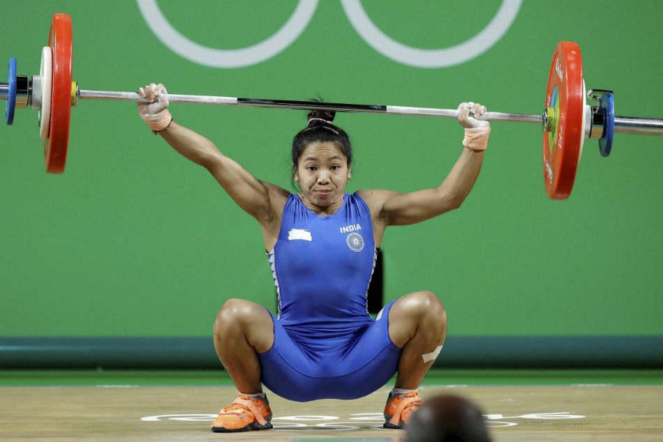 Newsmakers 2017 Weightlifting Mirabai Chanu