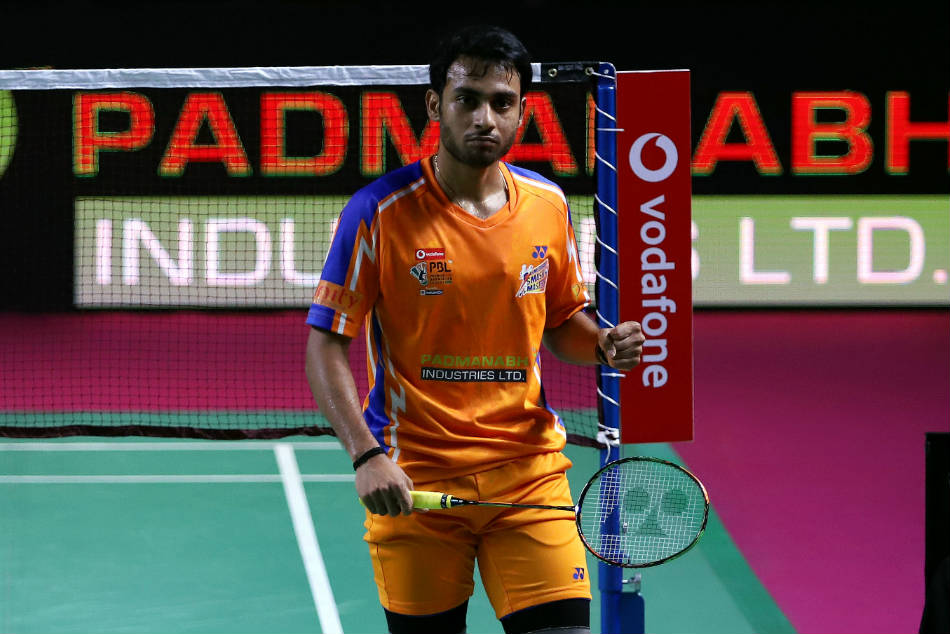 India S Hs Prannoy Sourabh Verma Star Ahmedabad Smash Masters Win Over Norteast Warriors