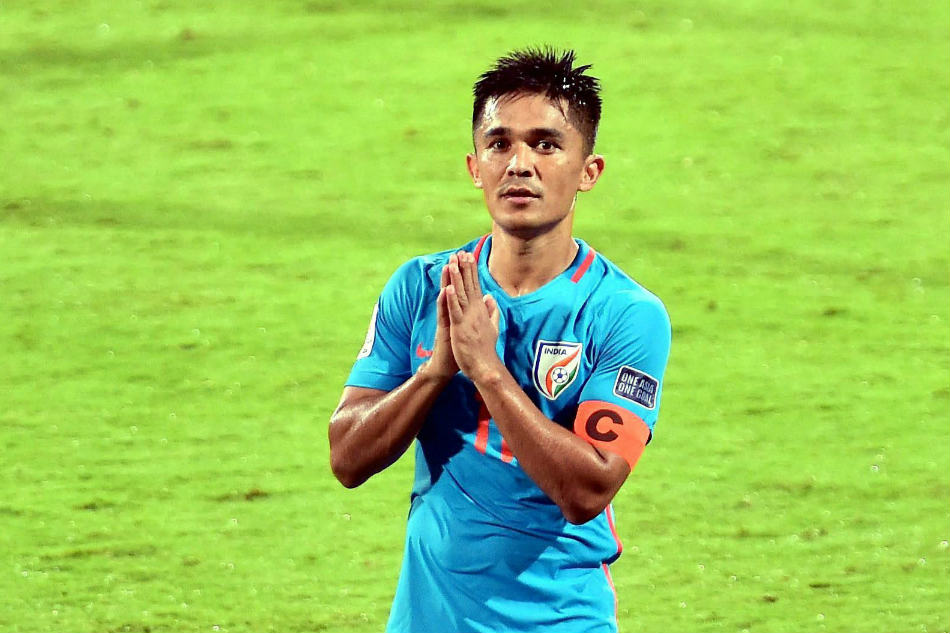Newsmakers 2017 Football Sunil Chhetri