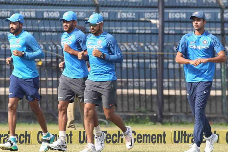 Watch India S New Look Pace Attack Practicing Under Coach Ravi Shastri