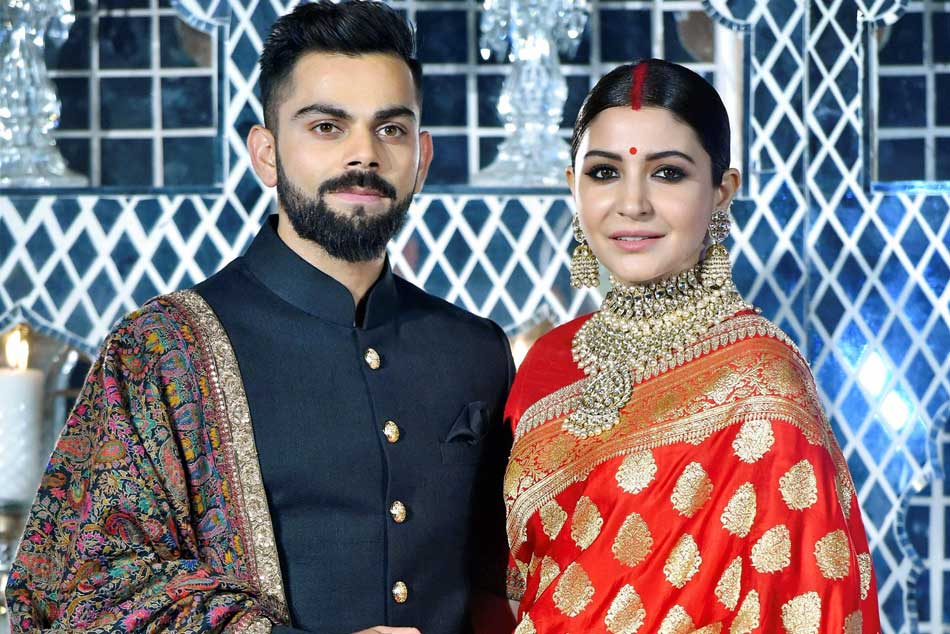 Virat Kohli Anushka Sharma Host Reception Delhi Pm Modi Attends See Pics
