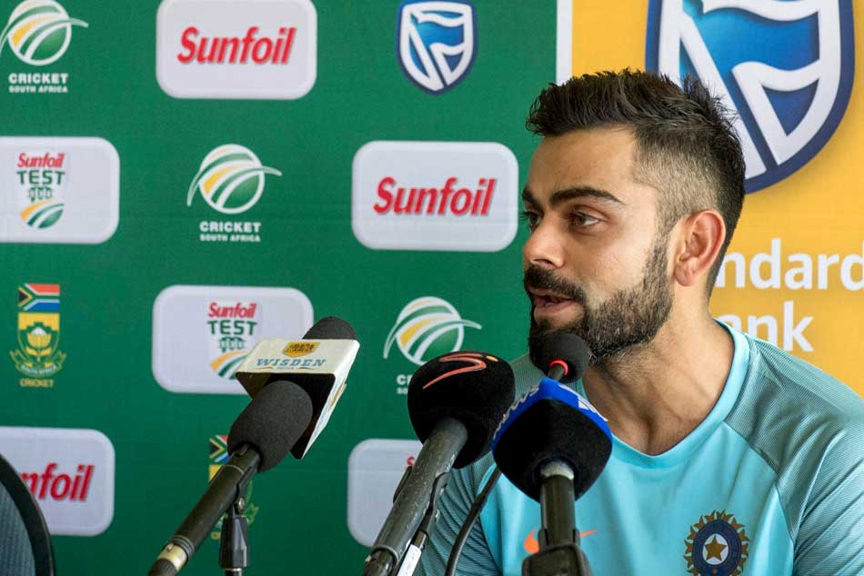 Key Is Not To Get Surprised By Pace And Bounce Sa Virat Kohli