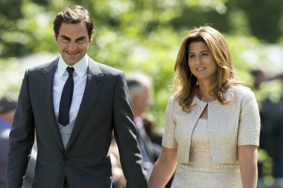 After Australian Open Triumph Federer Credits Wife Mirka Keeping Him Going