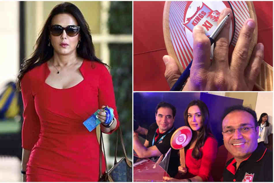 Virender Sehwag S Tweet On Preity Zinta S Shopping Spree Ipl Auctions Will Leave You In Splits