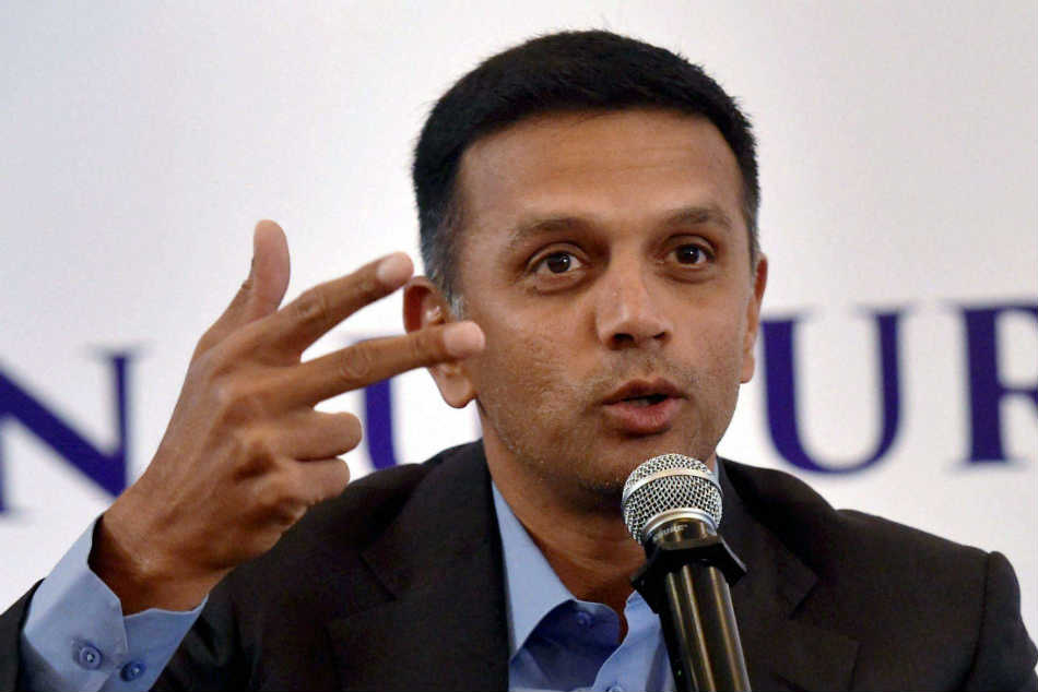 Rahul Dravid Former India Cricketer Current Coach India U 19 And A Teams Turns