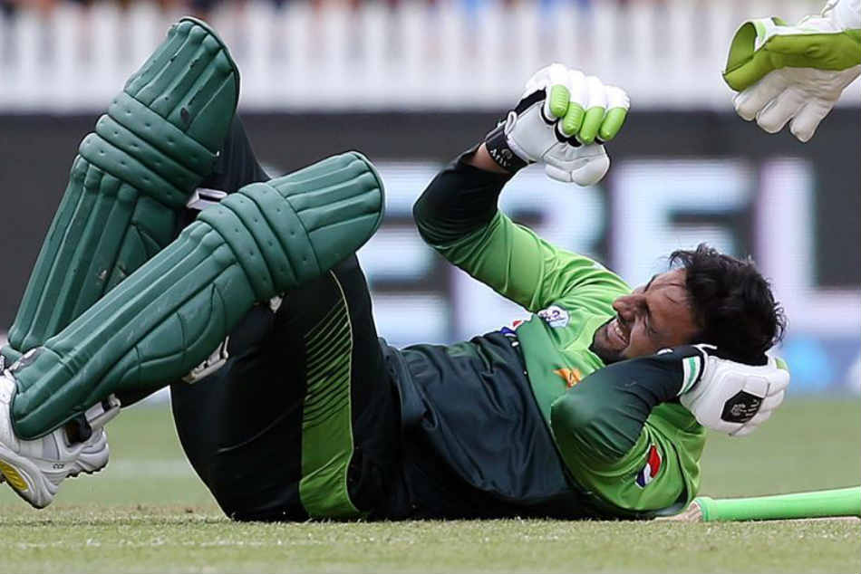 Shoaib Malik Suffers From Concussion After Head Injury During New Zealand Odi