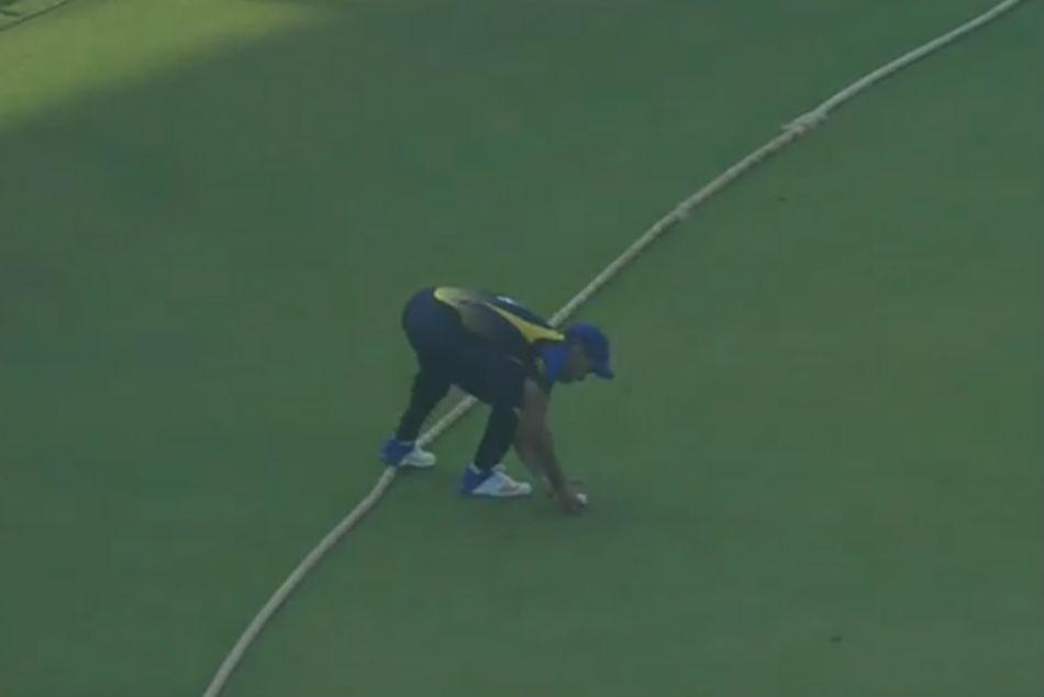 Umpiring Error During Hyderabad Karnataka T20 Match Stirs Controversy Bcci Awaits Referees