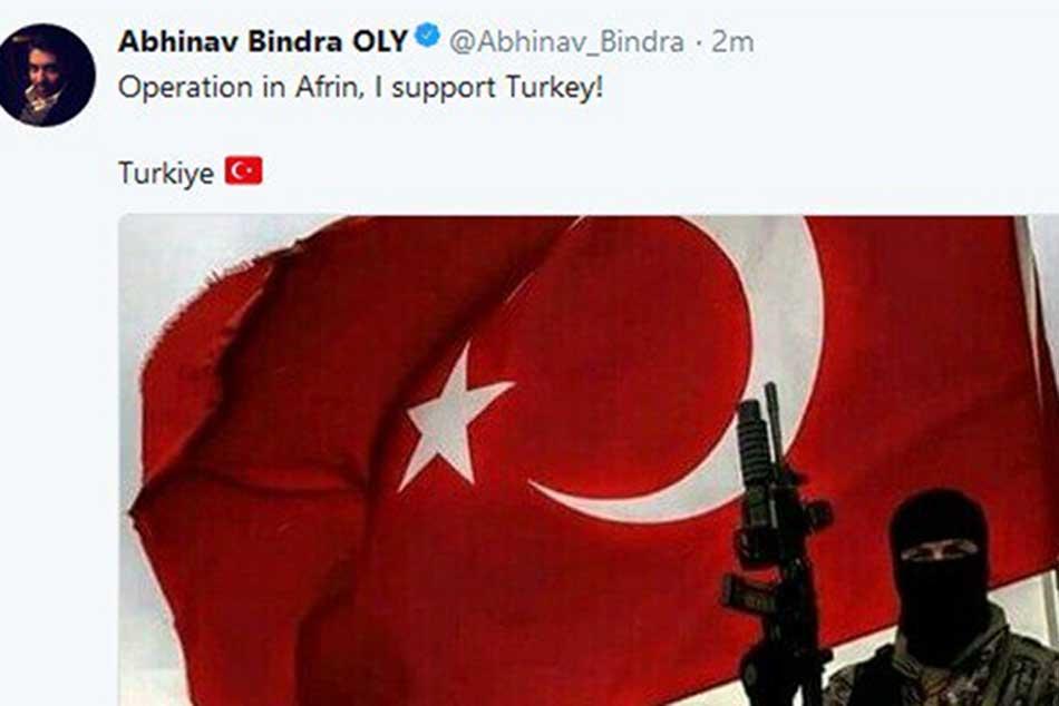 Abhinav Bindra S Twitter Account Hacked Reports