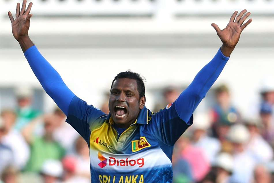 Angelo Mathews Ruled Of T20i Series Vs Bangladesh