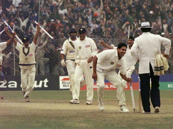 Perfect Ten Was Destiny Anil Kumble On 10 Wicket Haul Against Pakistan