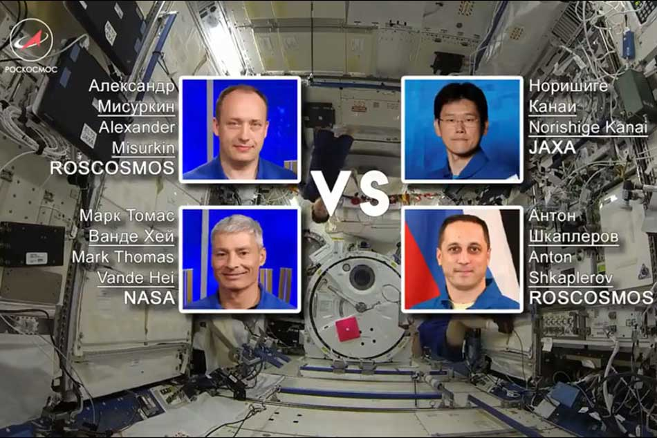 When astronauts tossed the shuttle: First badminton match played in outer space