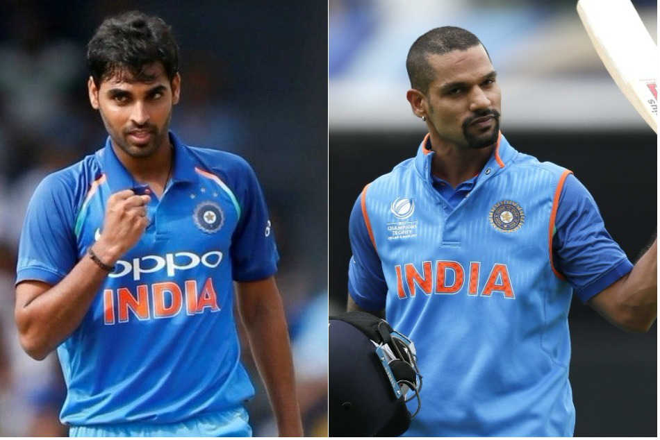 Shikhar Dhawan Bhuvneshwar Kumar Make Significant Movement In Icc Rankings
