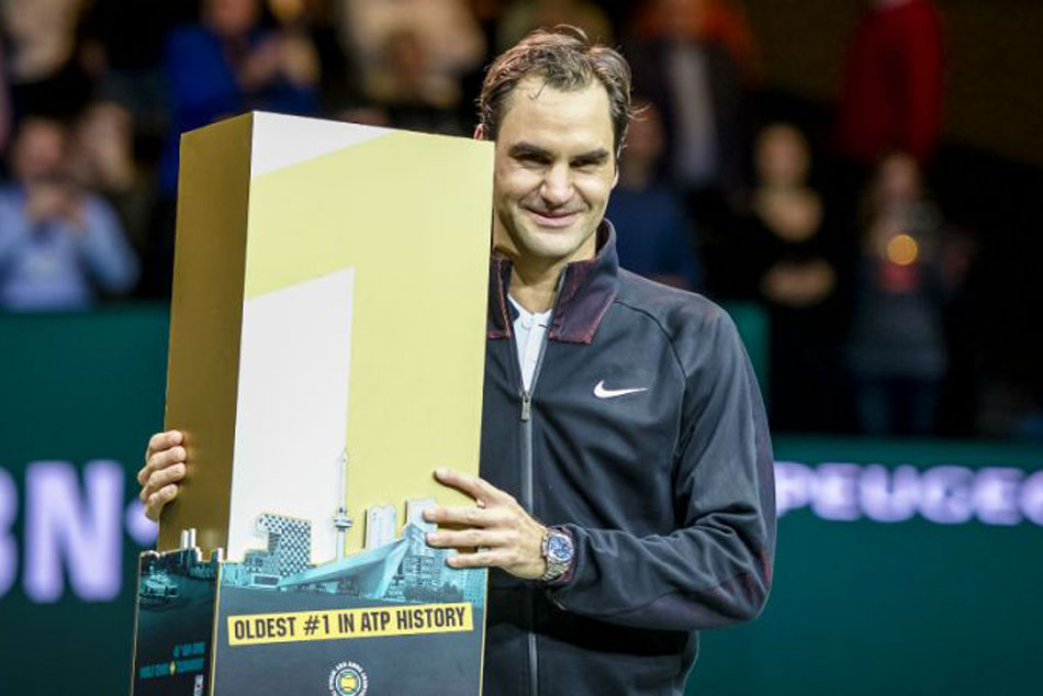 Records Tumble Federer S Latest Remarkable Ascent The Top