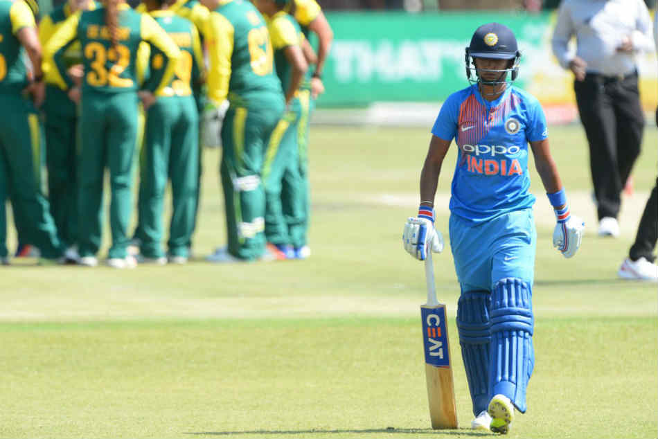India Vs South Africa Women S Third T20 Ind 91 2 Harmanpreet