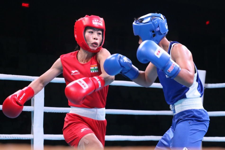 India Open Boxing Mary Kom Final Shiva Thapa Upstaged Semis