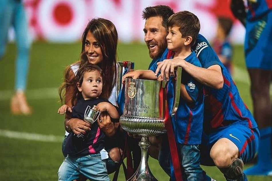 Lionel Messi S Third Child With Antonella Roccuzzo Is Named Ciro Video