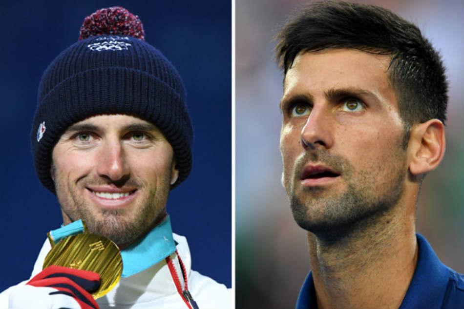 Seeing Double Novak Djokovic Cheers Lookalike Olympic Winner