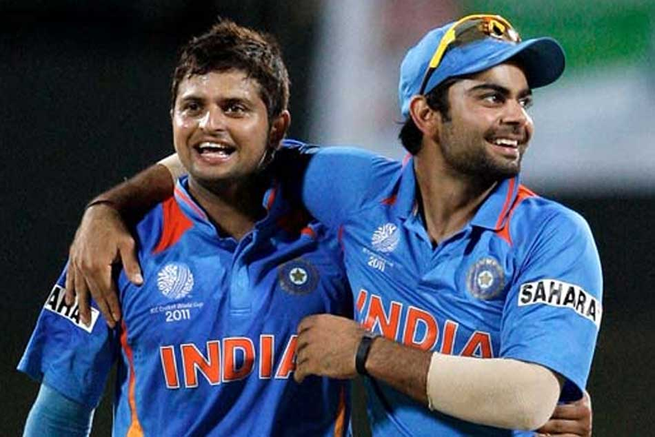 Raina Thanks Kohli Allowing Him Bat At No 3 Express Himself