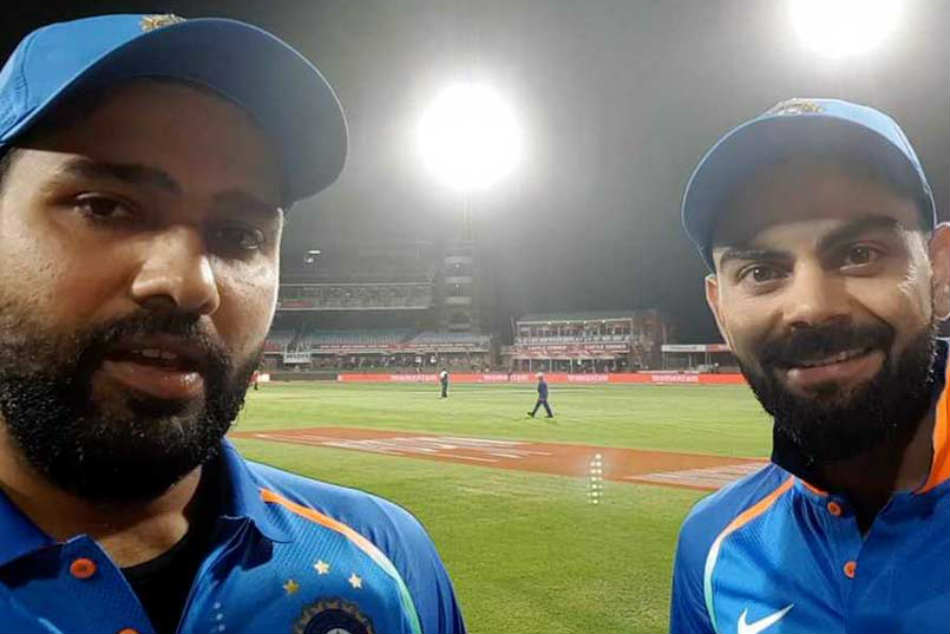 Watch: In One Kind Of First, Rohit Sharma's Quick Selfie Interview With Virat Kohli