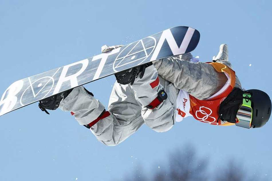 Winter Olympics 2018: White almost perfect as he advances to halfpipe final