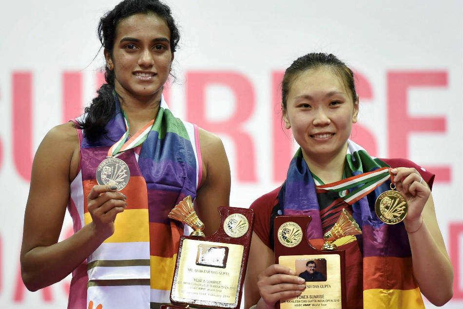 India Open Pv Sindhu Loses Beiwen Zhang Settles Silver