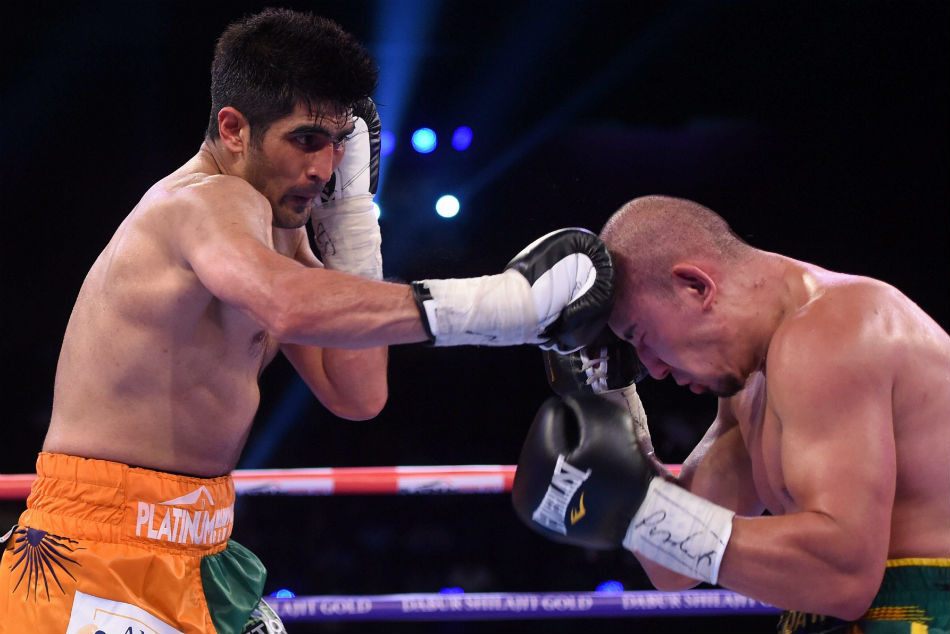 Boxing Vijender Singh Eyes Third Belt On Pro Circuit Commonwealth Games In April