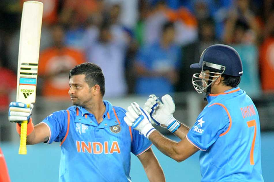 1,452 runs for Suresh Raina, the 3rd-most by an Indian in t20s