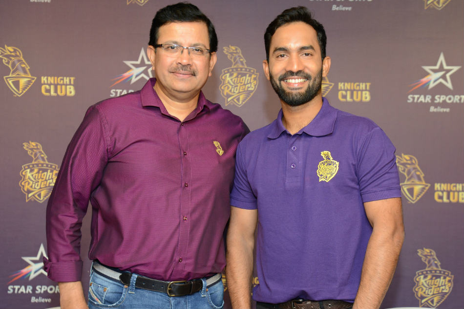 Ipl 2018 Kkr Appoints Dinesh Karthik As Captain Uthappa Vice Captain