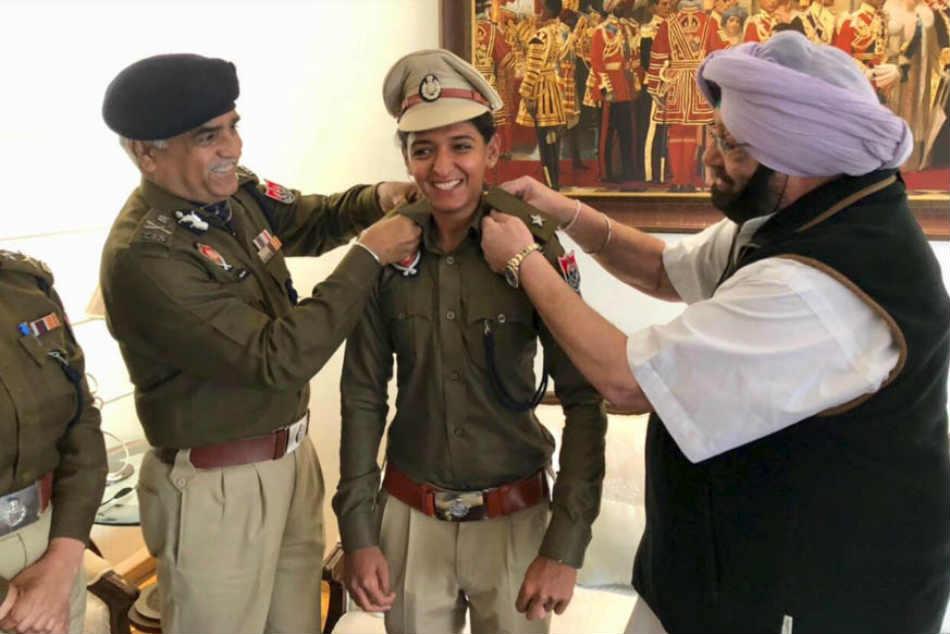 Indian Women S T20 Captain Harmanpreet Joins Punjab Police