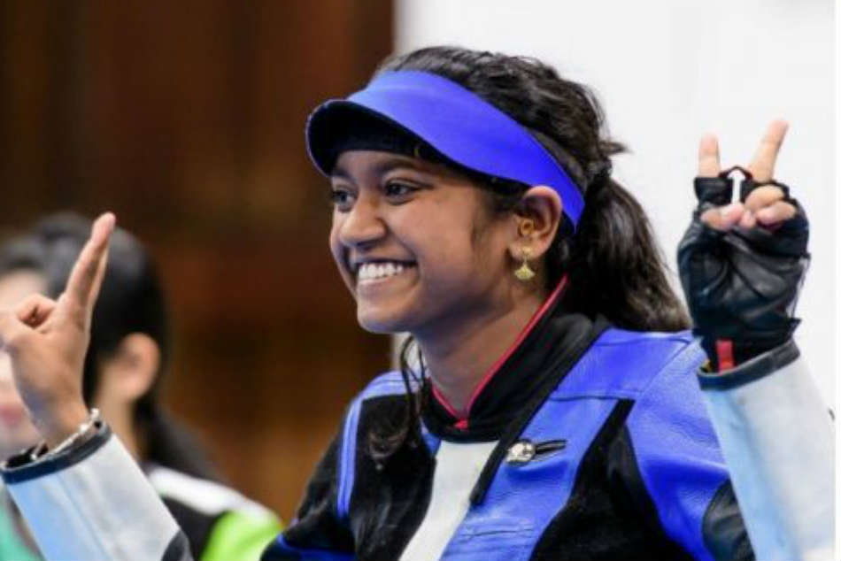 India S Elavenil Valarivan Wins Gold Issf Junior World Cup