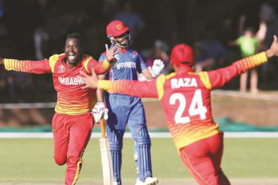 Afghanistan collapse as Zimbabwe win thriller, Gayle leads West Indies past UAE
