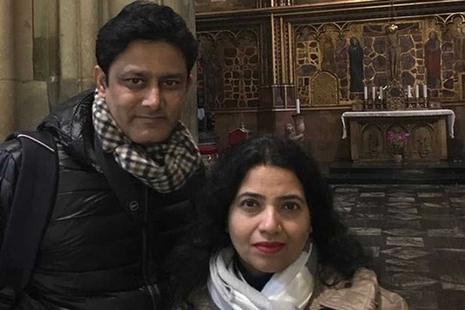 Wife of Anil Kumble files a police complaint in Bengaluru