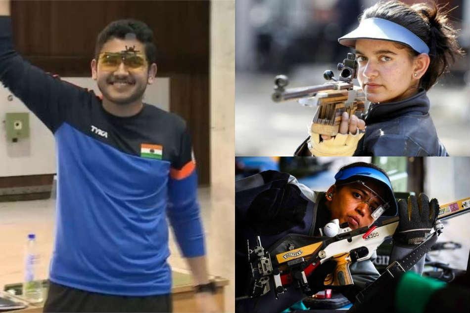 Cwg 2018 Tejaswini Sawant Grabs Gold India 50m Rifle Three Positions