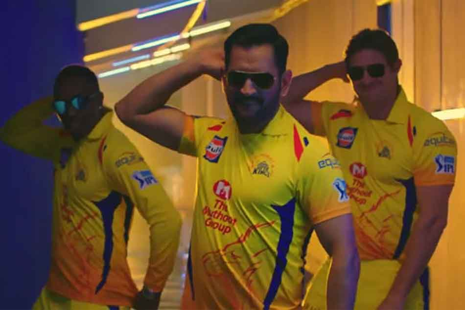 IPL 2018: Thala MS Dhoni Stars in CSKs New Whistle Podu Anthem