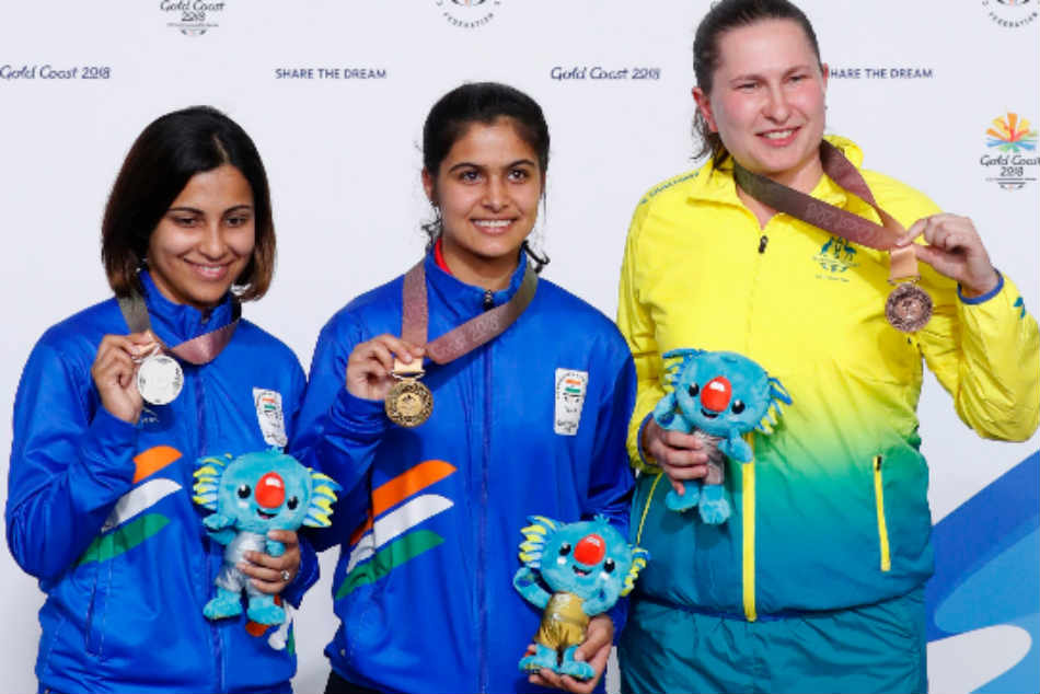 CWG 2018: Manu Bhaker, all of 16, runs away with 10m pistol gold