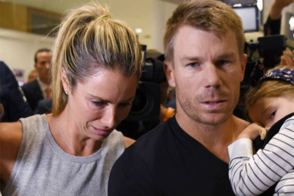 Ball-tampering crisis my fault, its killing me, says David Warners wife Candice