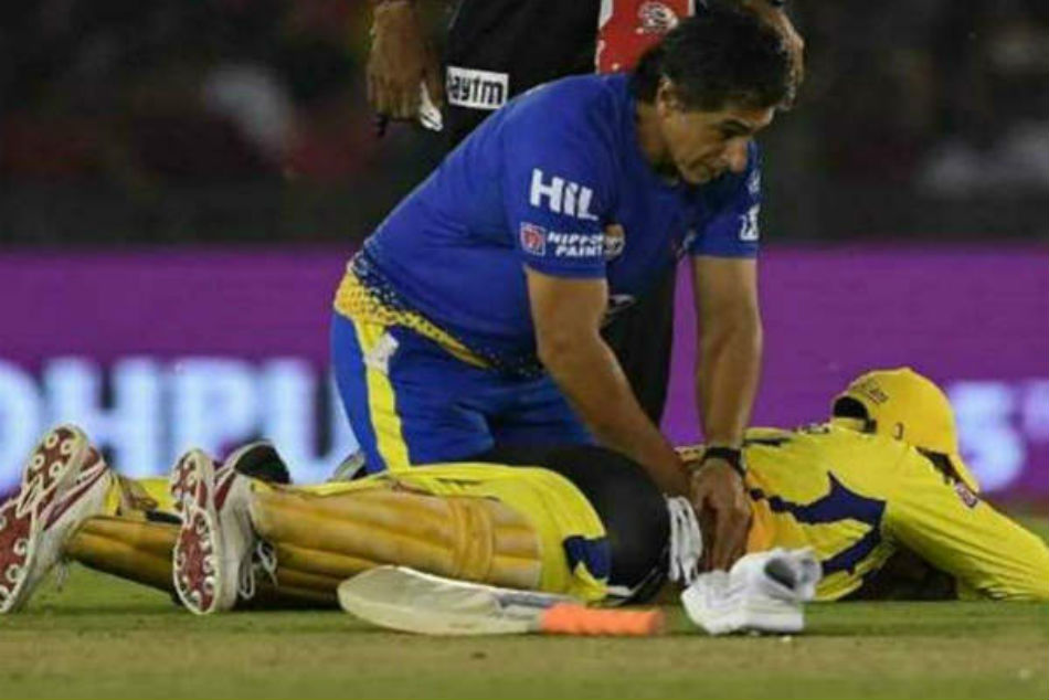 IPL 2018: MS Dhoni is likely to miss match against Rajasthan Royals