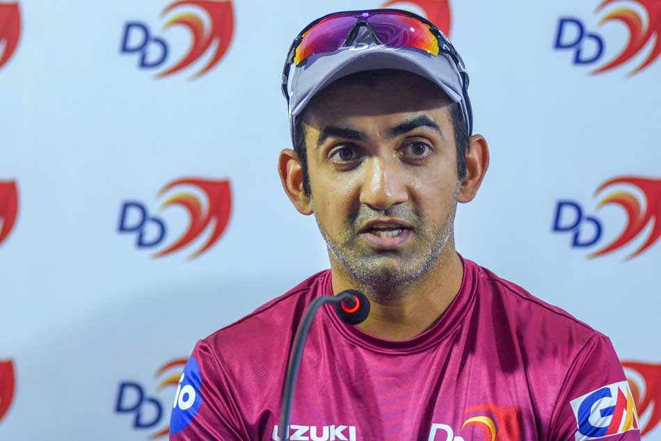 Ipl 2018 Dd Vs Kkr Karthik Wins Toss Delhi Bat Gambhir Not Playing