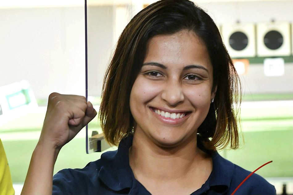 Cwg 2018 Heena Sidhu Wins Gold 25m Pistol