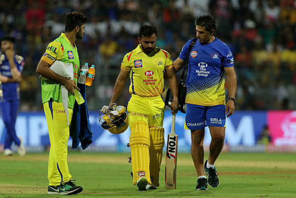 Hamstring injury rules Jadhav out of IPL 2018