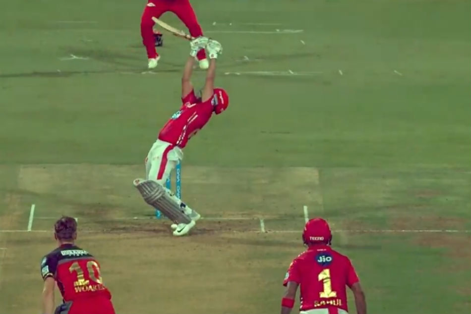 Karun Nair On Ramp Shot Against Royal Challengers Bangalore
