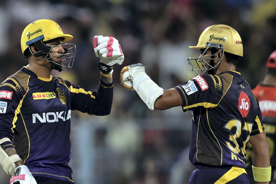 Ipl 2018 Sunil Narine Stars As Kolkata Knight Riders Beat Royal Challengers Bangalore By 4 Wickets