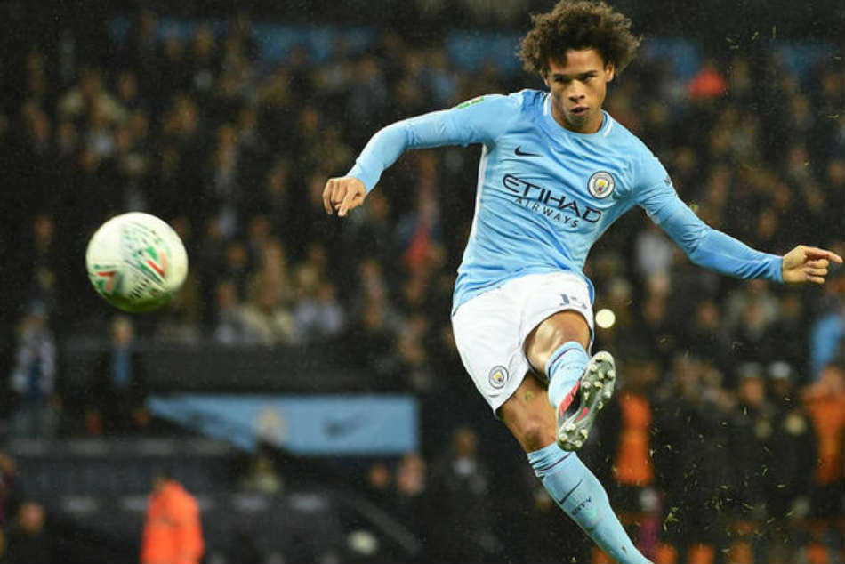 Manchester City S Leroy Sane Named Pfa Young Player The Year