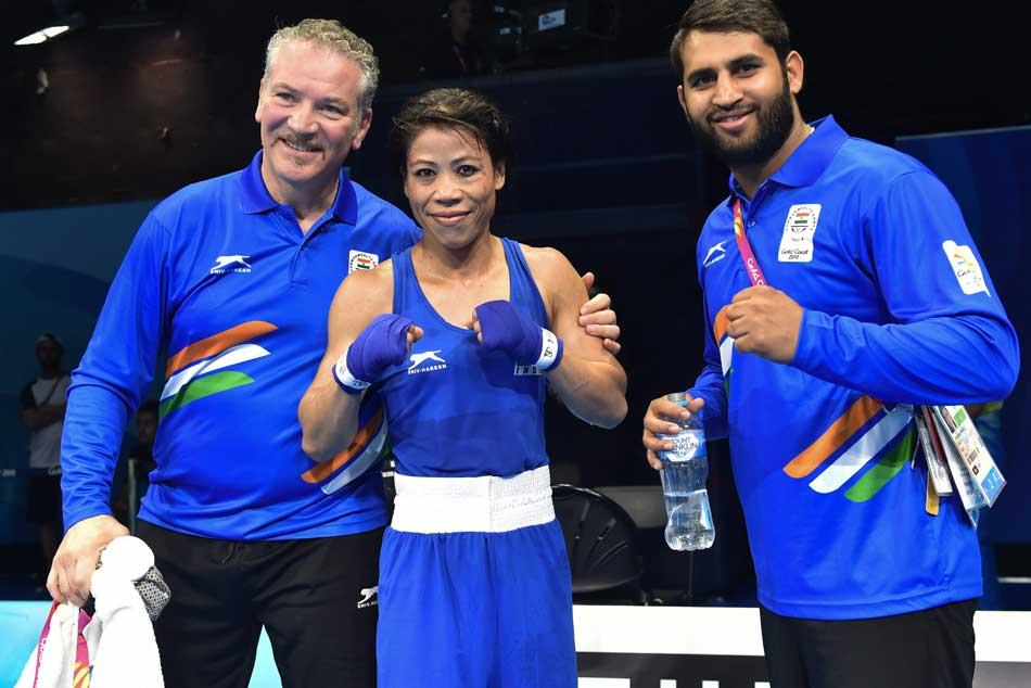 CWG 2018: MC Mary Kom defeats Sri Lankan boxing Anusha Dilrukshi to enter final in debut CWG event