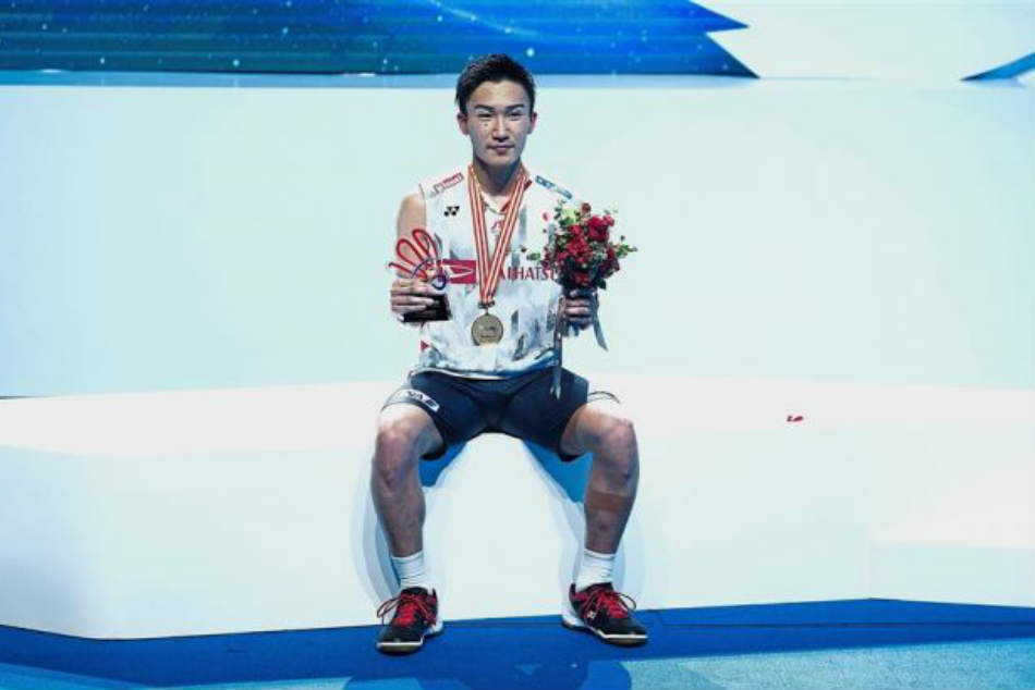 Momota S Abc Success Makes Him The Leading Singles Player