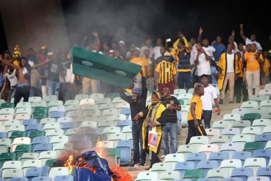 Psl Condemns Hooliganism Violence At Moses Mabhida Stadium