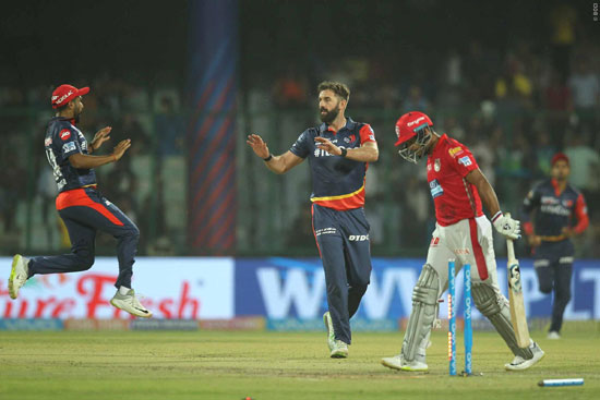 Ipl 2018 Match 22 Delhi Daredevils Vs Kings Xi Punjab Match Report At Feroz Shah Kotla