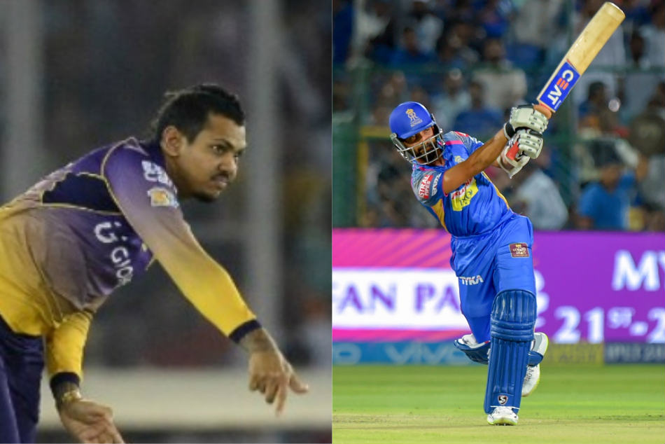 Ipl 2018 Rr Vs Kkr Sunil Narine Concedes 48 Runs His 4 Overs First Time In Ipl