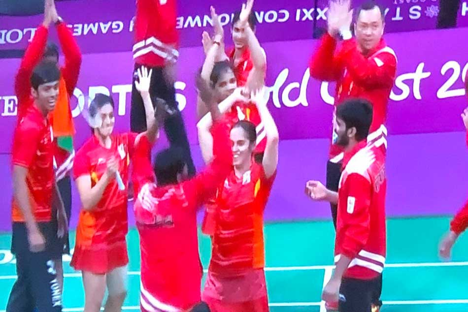Commonwealth Games 2018: India win badminton mixed team gold