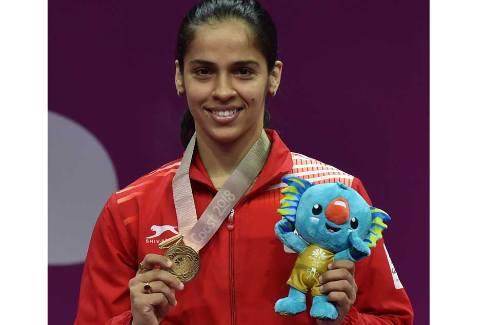 Cwg 2018 Aggressive Saina Clinches Women S Singles Gold Sindhu Srikanth Settle For Silver